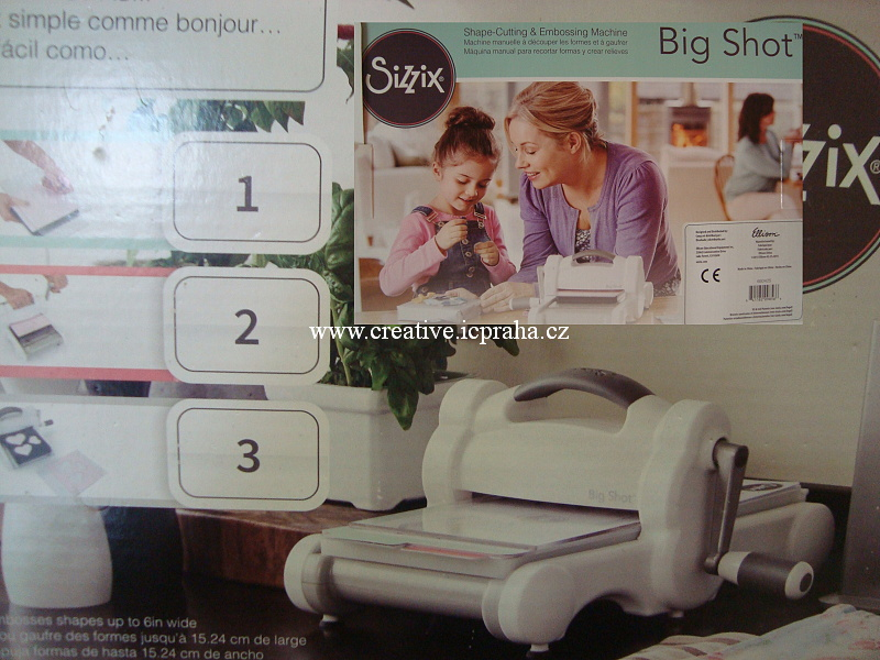 Big Shot - Starter Kit 661500 bílá